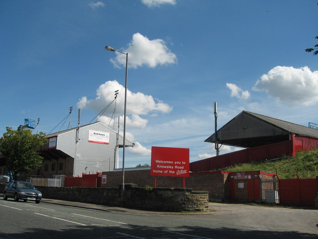 St Helens RFC,  Knowsley Road