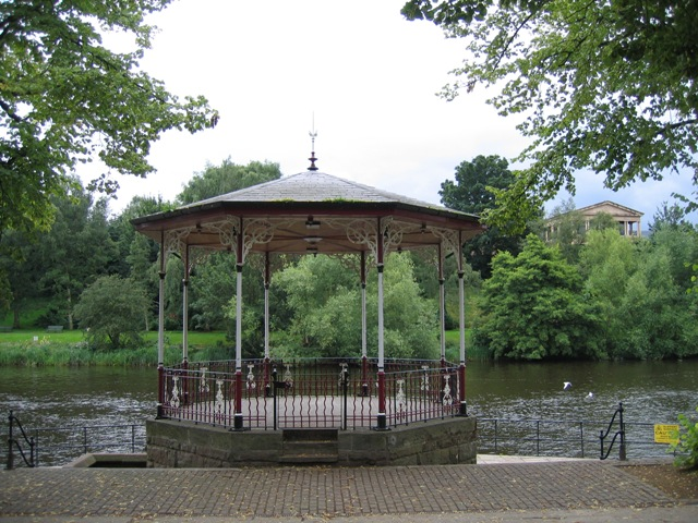 The Bandstand in the Groves