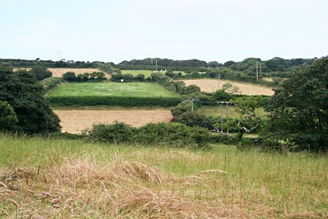 Farmland north of Penzance