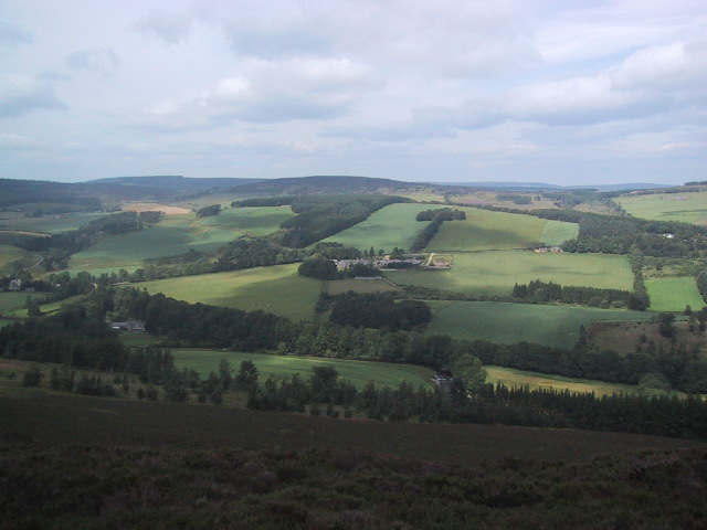 Straitinnan Moor from the Daugh of Aswanley (345m)