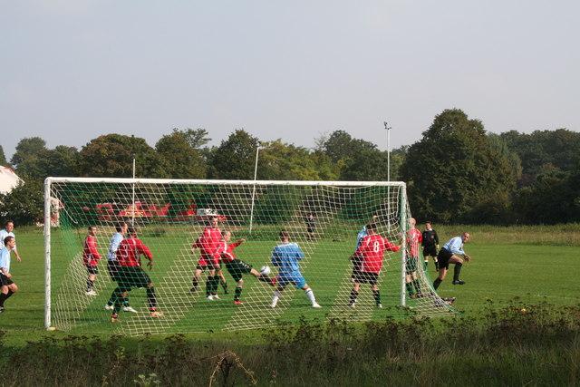 Football in Central Park, Dartford
