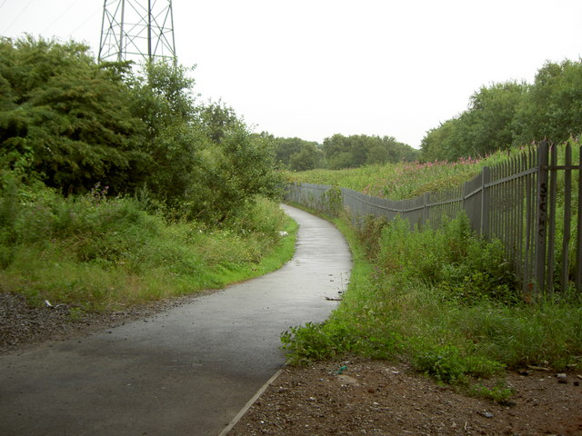 Cycle-path to Wallasey