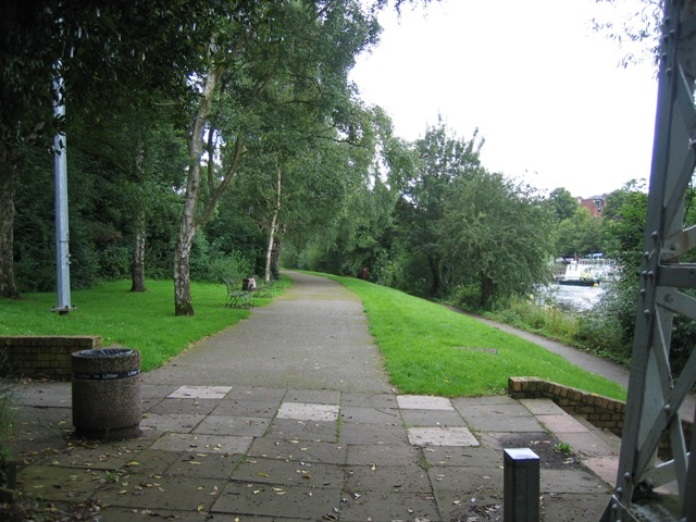 Walkway along the River Dee