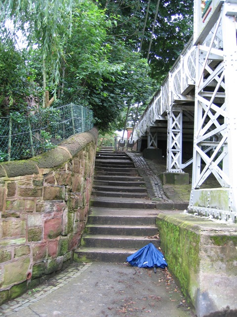 Steps by the Queens Park Bridge
