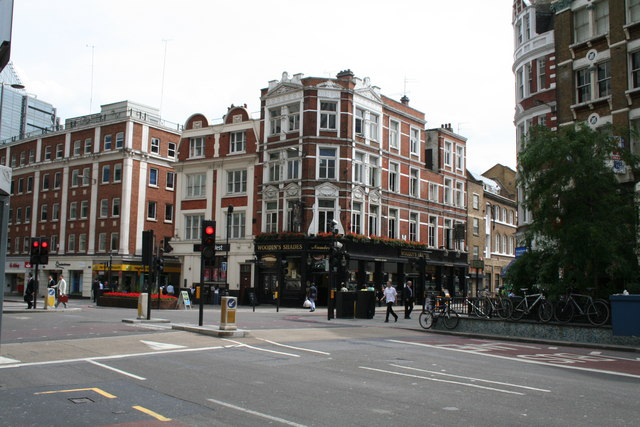 Woodin's Shades public house, Bishopsgate, London