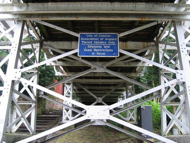 Underneath Queens Park Bridge