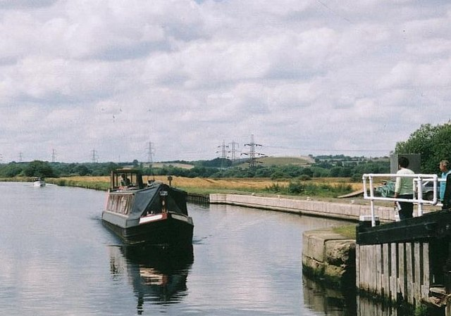 2002 : Woodnock Lock, Aire & Calder