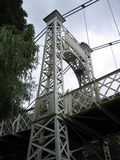 Southern Cable Support Tower for Queens Park Bridge