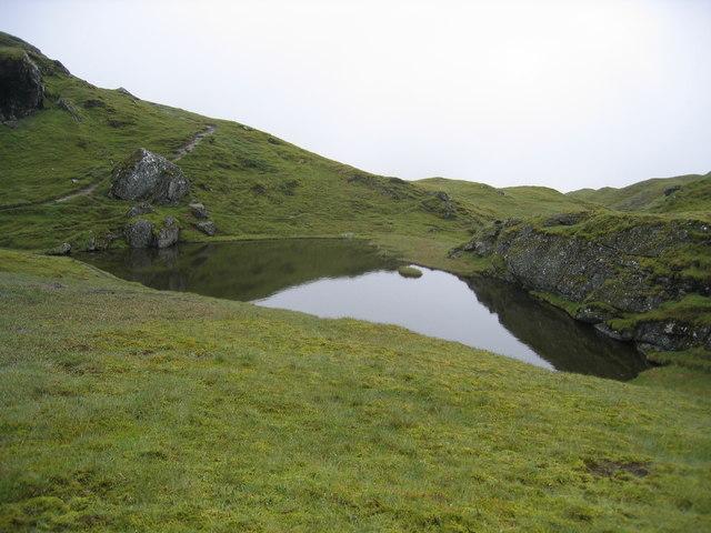 Lochan on Tarmachan Ridge