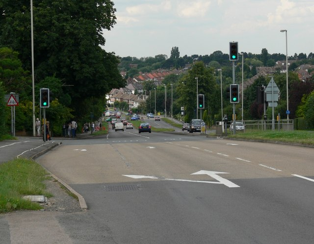 The A6 Glen Road, Oadby