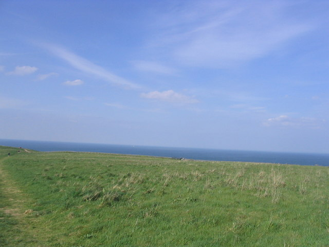 View to the sea from the RSPB centre at Bempton Cliffs