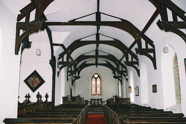 More church: interior