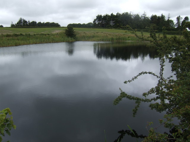 Small lake north of Lowick