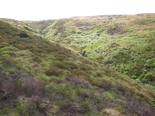 The valley of the Muddy Brook, Meltham
