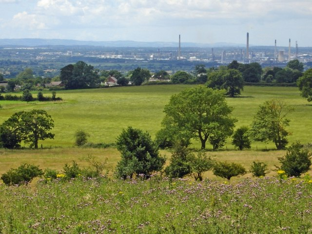 Alvanley - view from the Sandstone Trail