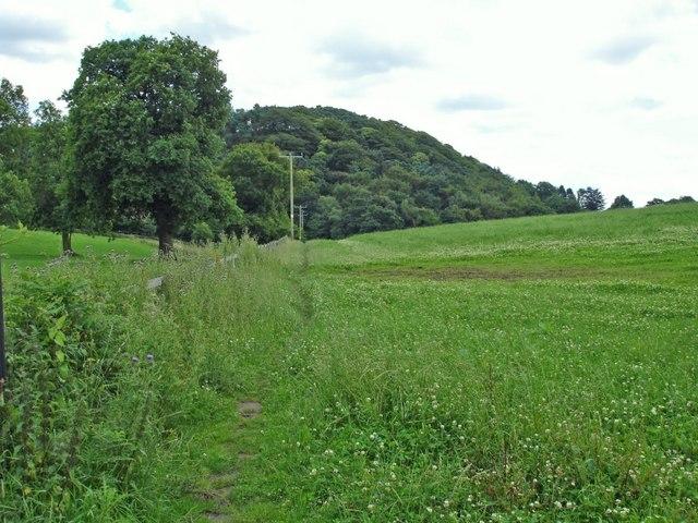 Alvanley - view along the Sandstone Trail