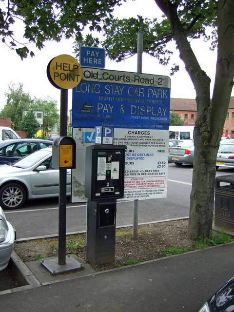 Pay and Display Point No. 2