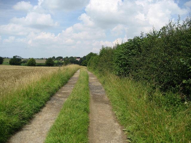 Green Hills Lane near Sedgefield House