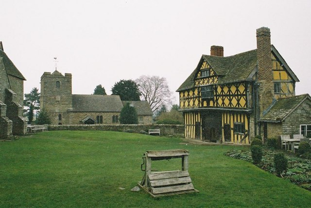 Stokesay: castle and parish church