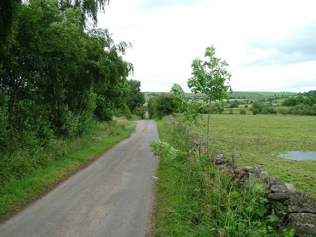 Road near Griseburn