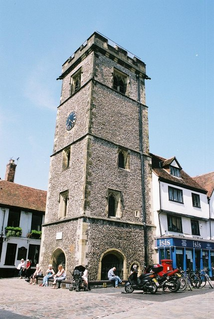 St. Albans: clock tower