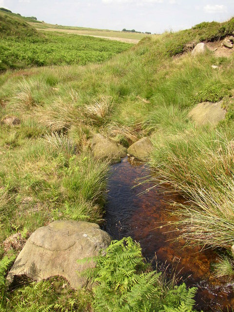 Pool in a stream, Meltham
