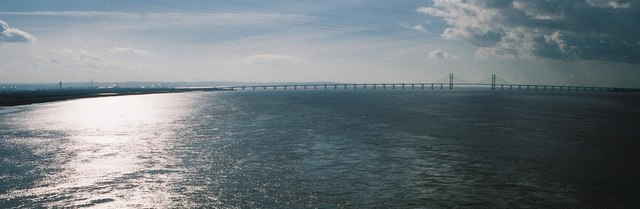 Severn bridges: the new one from the old