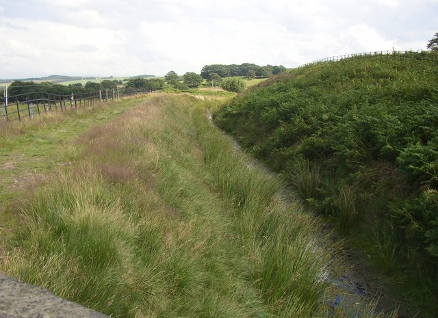 Catchwater drain, off the top of Brow Grains Road, Meltham