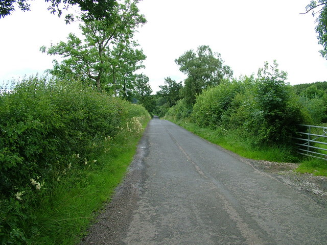 Road near Turnbank