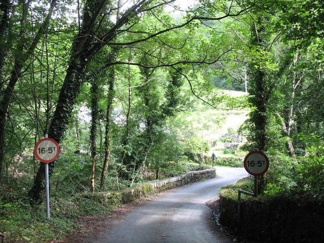 Pont ar Eden - the bridge over Afon Eden