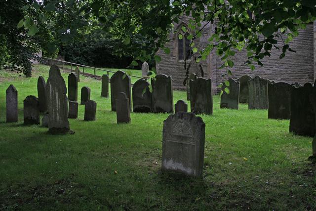Middleton churchyard