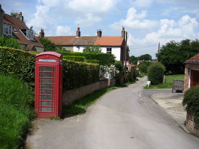Telephone Box, Ainderby Steeple