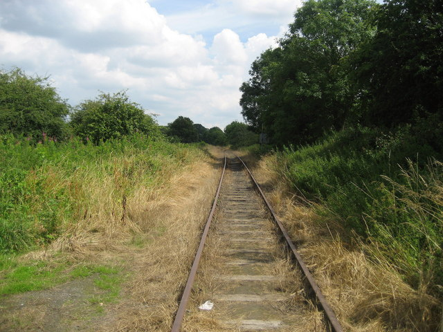 Railway, Ainderby Steeple