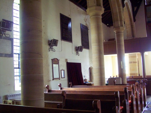 The Church of St Hilda, Danby - Interior