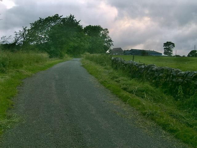 Peak District lane