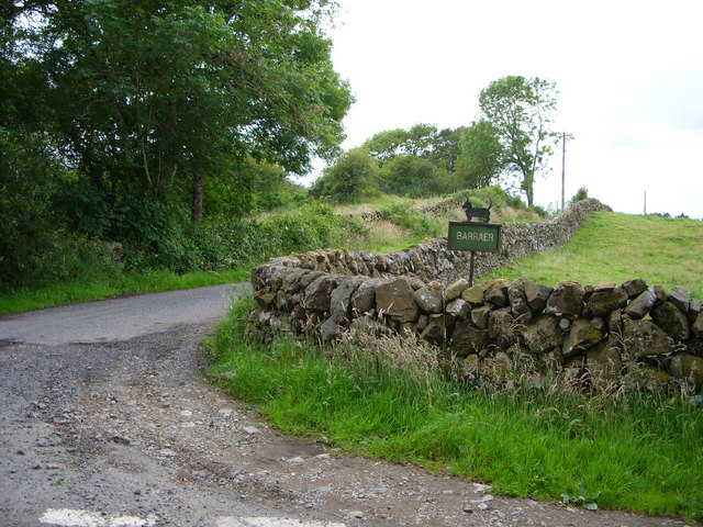 Barraer farm road
