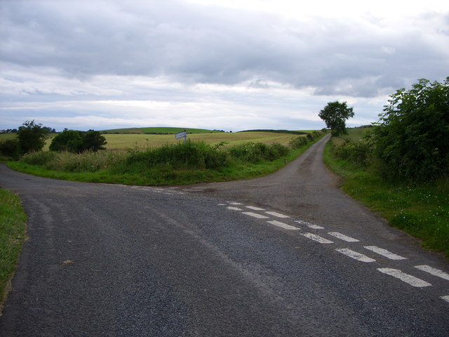 Fork in the road at Barlaughan