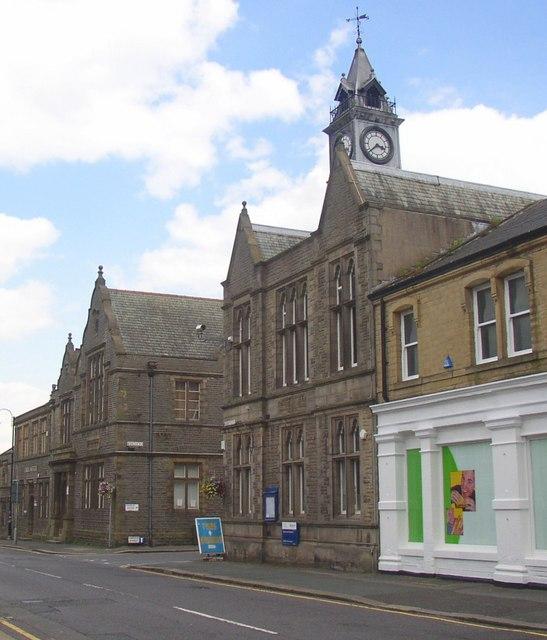 Meltham Town Hall, Huddersfield Road