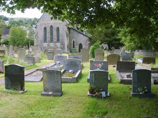 St Barnabas' Churchyard, Bradwell