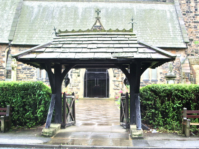 Lychgate, The Parish Church of St James, Leyland