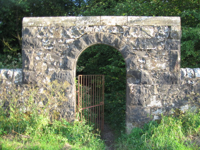 Geilsland Gate to Spiers School, Beith