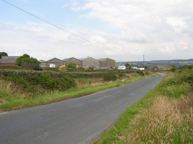 Intake Lane, South Crosland
