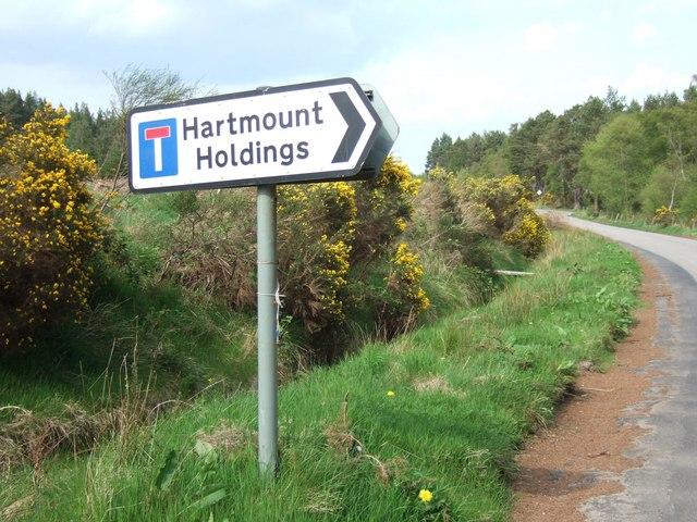 Hartmount Road Sign