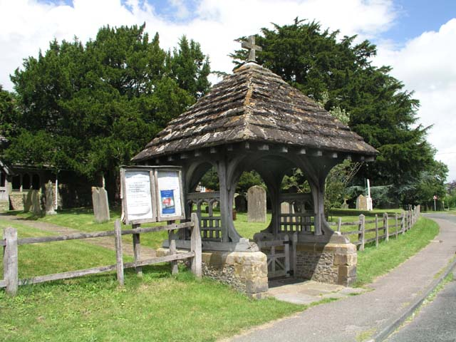 Lych Gate at Church of St Peter