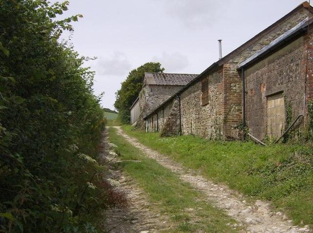 Behind Newbarn Farm
