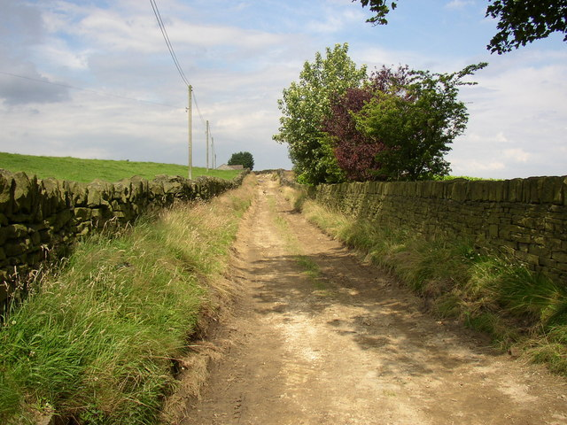 Byway to Nether Moor, South Crosland