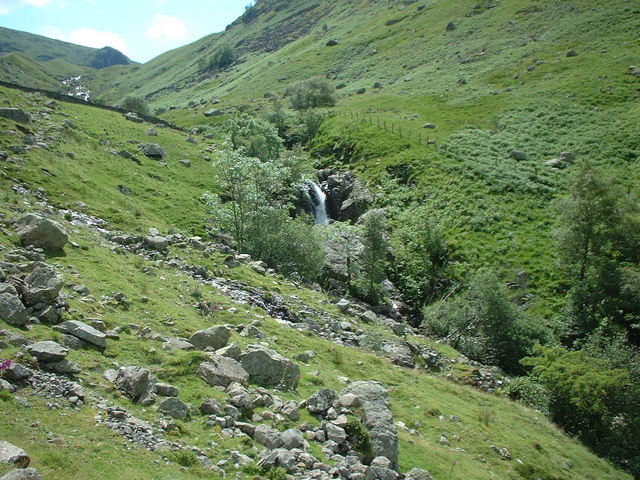 Waterfall on Greenup Gill