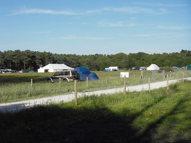 Campsite near Rempstone