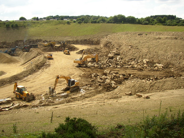 Moorfield Quarry off Sands House Lane, South Crosland