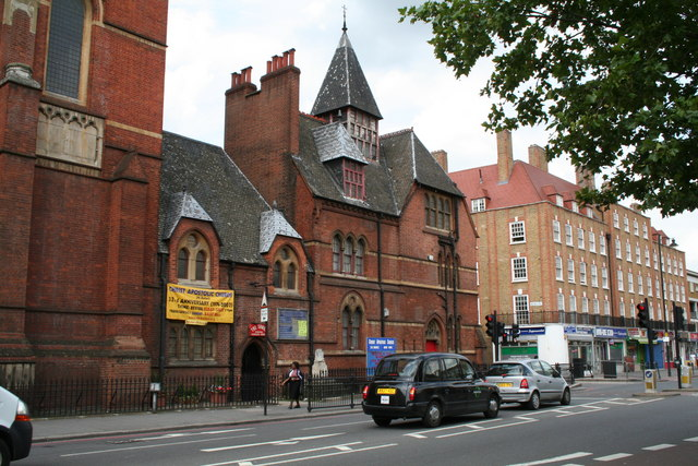 St. Columba's Church, Kingsland Road, London
